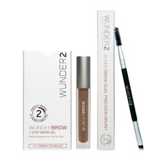 Набор WUNDERBROW Гель для бровей + WUNDERBROW DUAL PRECISION BRUSH Кисть для бровей